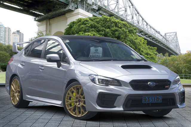 Demo Subaru WRX V1 MY20 STI AWD Premium, 2019 Subaru WRX V1 MY20 STI AWD Premium Ice Silver 6 Speed Manual Sedan