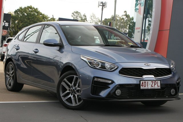 Demo Kia Cerato BD MY20 Sport, 2019 Kia Cerato BD MY20 Sport Horizon Blue 6 Speed Sports Automatic Hatchback