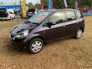 2007 Honda Jazz GD GLi Purple 5 Speed Manual Hatchback.