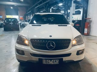 2008 Mercedes-Benz M-Class W164 MY08 ML320 CDI Edition 10 White 7 Speed Sports Automatic Wagon