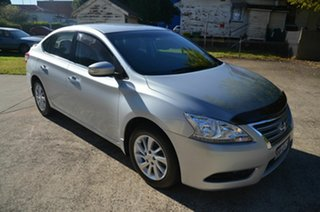 2013 Nissan Pulsar B17 ST-L Silver Continuous Variable Sedan.