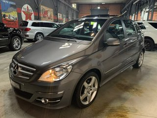 2010 Mercedes-Benz B-Class W245 MY11 B180 CDI Grey 7 Speed Constant Variable Hatchback