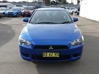 2013 Mitsubishi Lancer CJ MY13 ES Blue 5 Speed Manual Sedan.