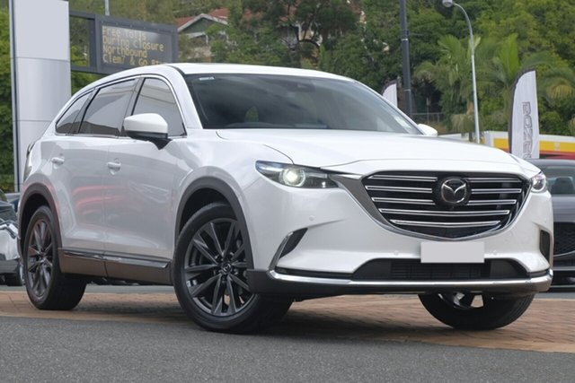 New Mazda CX-9 K Azami (AWD) Kirrawee, 2020 Mazda CX-9 K Azami (AWD) Snowflake White Pearl 6 Speed Automatic Wagon