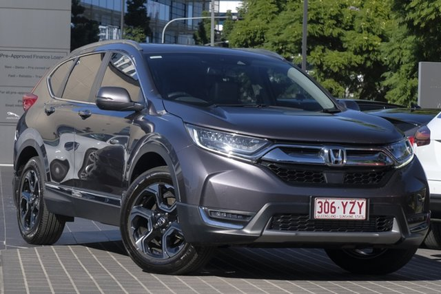 Used Honda CR-V RW MY19 VTi-LX 4WD, 2019 Honda CR-V RW MY19 VTi-LX 4WD Grey 1 Speed Constant Variable Wagon
