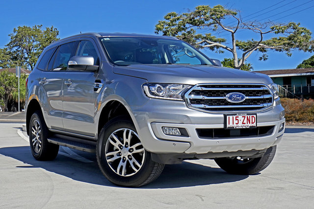 Used Ford Everest UA II 2019.00MY Trend 4WD, 2019 Ford Everest UA II 2019.00MY Trend 4WD Aluminium 10 Speed Sports Automatic Wagon