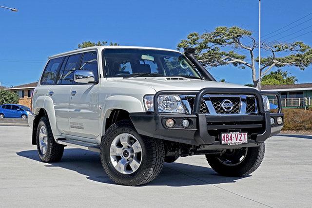 Used Nissan Patrol Y61 GU 9 ST, 2015 Nissan Patrol Y61 GU 9 ST White 4 Speed Automatic Wagon
