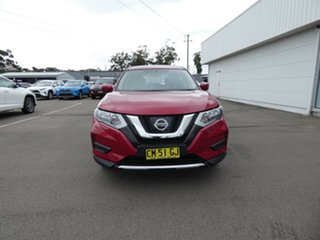 2017 Nissan X-Trail T32 ST X-tronic 4WD Maroon 7 Speed Constant Variable Wagon.