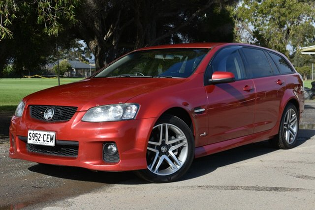 Used Holden Commodore VE II SV6 Sportwagon, 2011 Holden Commodore VE II SV6 Sportwagon Red 6 Speed Sports Automatic Wagon