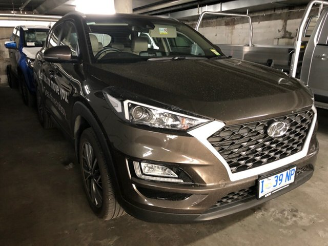 Demo Hyundai Tucson TL4 MY20 Active X 2WD, 2019 Hyundai Tucson TL4 MY20 Active X 2WD Sage Brown 6 Speed Automatic Wagon