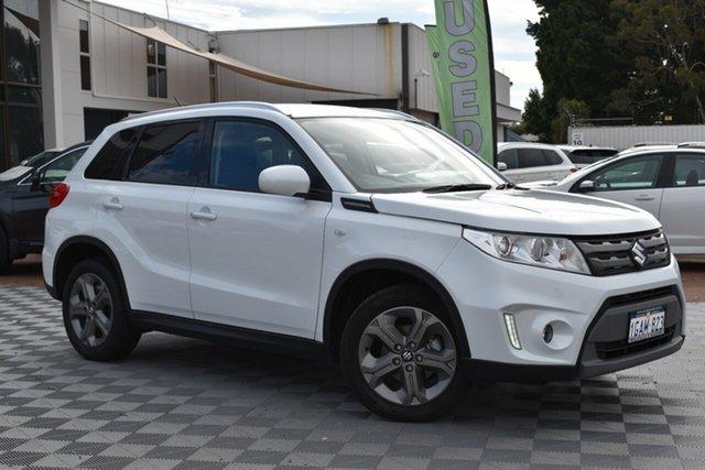 Used Suzuki Vitara LY RT-S 2WD, 2016 Suzuki Vitara LY RT-S 2WD Cool White 6 Speed Sports Automatic Wagon