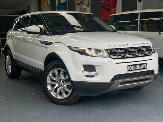 Used Land Rover Range Rover Evoque L538 TD4 Pure, 2014 Land Rover Range Rover Evoque L538 TD4 Pure Fuji White Sports Automatic Wagon