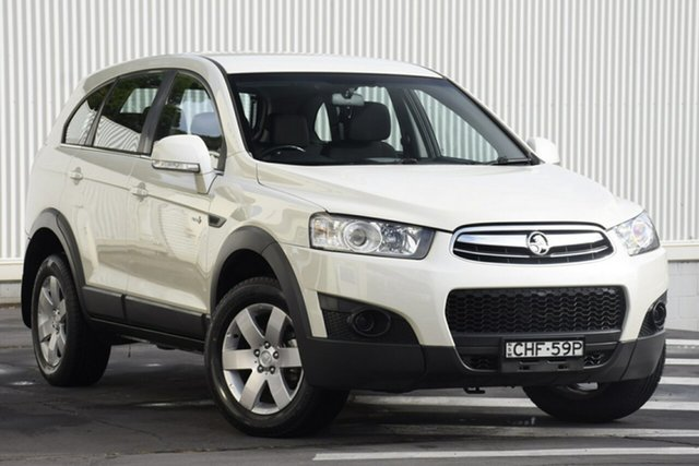 Used Holden Captiva CG Series II MY12 7 SX, 2012 Holden Captiva CG Series II MY12 7 SX White 6 Speed Sports Automatic Wagon
