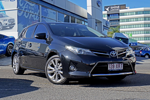 Used Toyota Corolla ZRE182R Levin SX, 2013 Toyota Corolla ZRE182R Levin SX Black 6 Speed Manual Hatchback