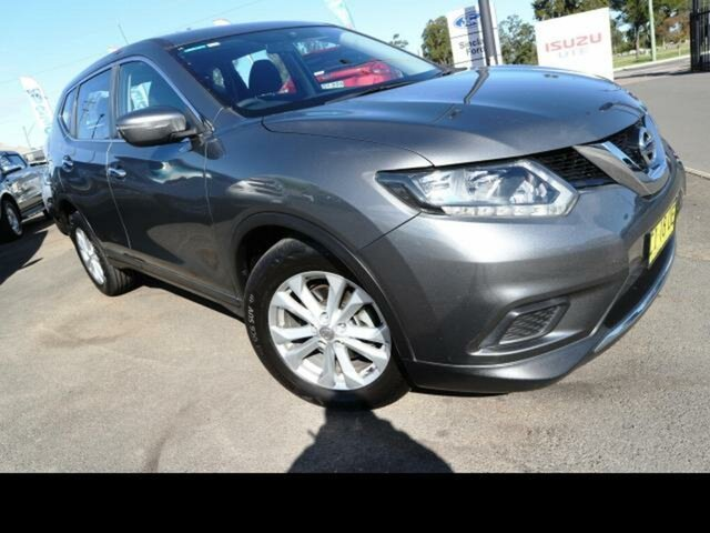 Used Nissan X-Trail T32 ST (FWD), 2016 Nissan X-Trail T32 ST (FWD) Grey Continuous Variable Wagon