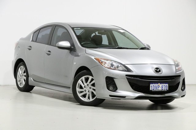 Demo Mazda 3 BL 11 Upgrade Maxx Sport, 2012 Mazda 3 BL 11 Upgrade Maxx Sport Silver 5 Speed Automatic Sedan