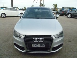 2010 Audi A1 8X MY11 Ambition S Tronic Silver 7 Speed Sports Automatic Dual Clutch Hatchback.