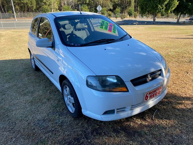 Used Holden Barina TK MY08 , 2008 Holden Barina TK MY08 White 5 Speed Manual Hatchback