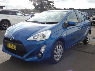 2015 Toyota Prius c NHP10R E-CVT Tidal Blue 1 Speed Constant Variable Hatchback Hybrid
