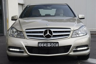2012 Mercedes-Benz C-Class W204 MY12 C250 BlueEFFICIENCY 7G-Tronic + Avantgarde Silver 7 Speed