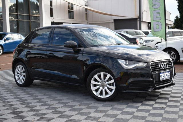 Used Audi A1 8X MY14 Attraction Sportback S Tronic, 2015 Audi A1 8X MY14 Attraction Sportback S Tronic Black 7 Speed Sports Automatic Dual Clutch
