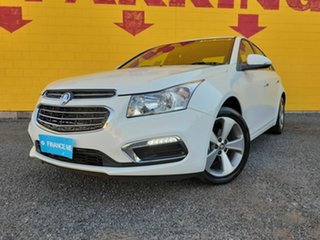 2016 Holden Cruze JH Series II MY16 Z-Series White 6 Speed Sports Automatic Sedan