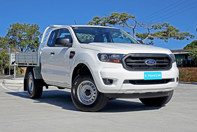 Used Ford Ranger PX MkIII 2019.00MY XL Pick-up Super Cab, 2019 Ford Ranger PX MkIII 2019.00MY XL Pick-up Super Cab White 6 Speed Sports Automatic Utility