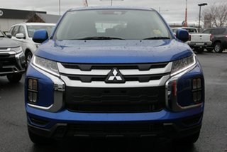 2020 Mitsubishi ASX XD MY21 ES 2WD Lightning Blue 1 Speed Constant Variable Wagon