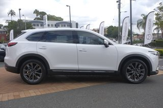 2020 Mazda CX-9 TC Azami SKYACTIV-Drive i-ACTIV AWD Snowflake White Pearl 6 Speed Sports Automatic