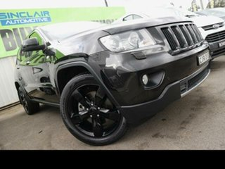 2012 Jeep Grand Cherokee WK Limited (4x4) Black 5 Speed Automatic Wagon.