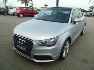 2010 Audi A1 8X MY11 Ambition S Tronic Silver 7 Speed Sports Automatic Dual Clutch Hatchback