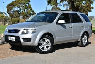 2010 Ford Territory SY MkII TS Silver 4 Speed Sports Automatic Wagon.