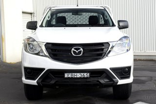 2019 Mazda BT-50 UR0YE1 XT 4x2 Hi-Rider White 6 Speed Sports Automatic Cab Chassis