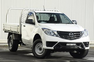 2019 Mazda BT-50 UR0YE1 XT 4x2 Hi-Rider White 6 Speed Sports Automatic Cab Chassis.