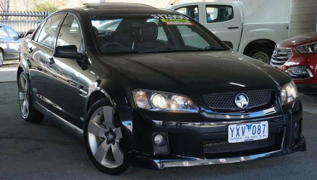 Used Holden Commodore VE MY09.5 SS V, 2009 Holden Commodore VE MY09.5 SS V Black 6 Speed Sports Automatic Sedan