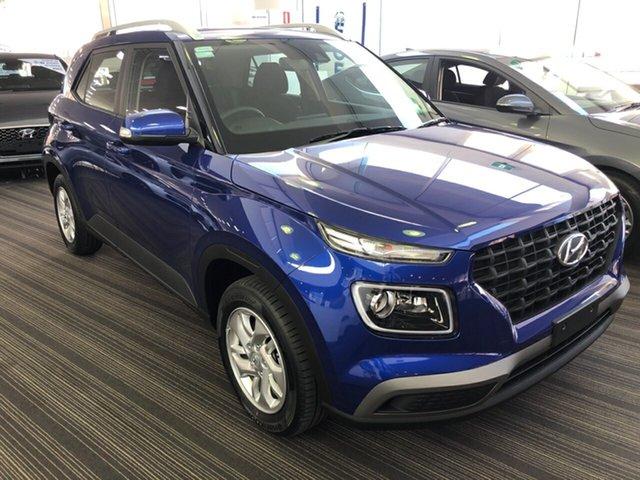 New Hyundai Venue QX MY20 Active, 2019 Hyundai Venue QX MY20 Active Intense Blue 6 Speed Automatic Wagon