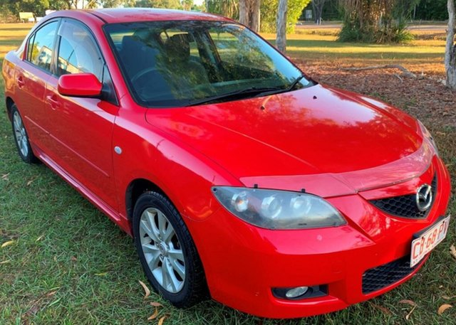 Used Mazda 3 BK10F2 Maxx Sport, 2007 Mazda 3 BK10F2 Maxx Sport Red 4 Speed Sports Automatic Hatchback