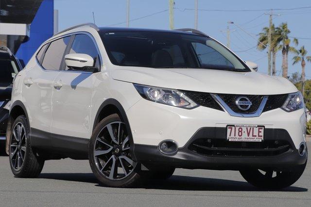 Used Nissan Qashqai J11 TI, 2014 Nissan Qashqai J11 TI White 1 Speed Constant Variable Wagon