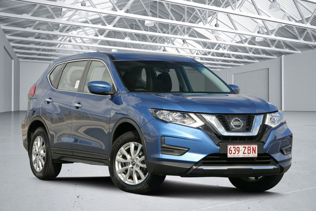 Used Nissan X-Trail T32 Series 2 ST (2WD), 2018 Nissan X-Trail T32 Series 2 ST (2WD) Marine Blue Continuous Variable Wagon