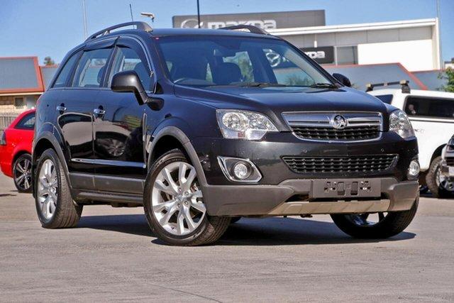 Used Holden Captiva CG MY13 5 AWD LTZ, 2013 Holden Captiva CG MY13 5 AWD LTZ Black 6 Speed Sports Automatic Wagon
