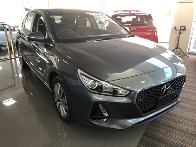 New Hyundai i30 PD2 MY20 Active, 2020 Hyundai i30 PD2 MY20 Active Iron Gray 6 Speed Sports Automatic Hatchback