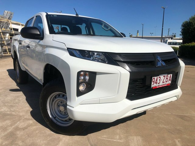 Used Mitsubishi Triton MR MY19 GLX Double Cab ADAS, 2018 Mitsubishi Triton MR MY19 GLX Double Cab ADAS White 6 Speed Sports Automatic Utility