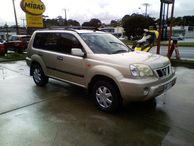 Used Nissan X-Trail T30 ST Morphett Vale, 2003 Nissan X-Trail T30 ST Gold 5 Speed Manual Wagon
