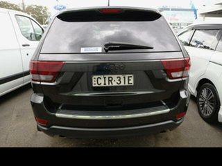 2012 Jeep Grand Cherokee WK Limited (4x4) Black 5 Speed Automatic Wagon