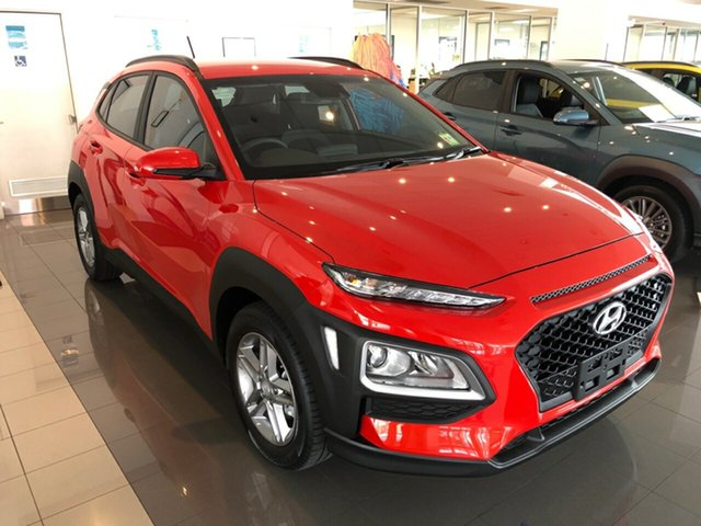 New Hyundai Kona OS.3 MY20 Active 2WD, 2019 Hyundai Kona OS.3 MY20 Active 2WD Tangerine Comet 6 Speed Sports Automatic Wagon