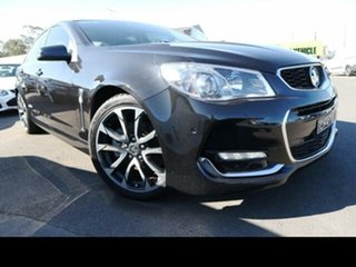 2016 Holden Commodore VF II SS-V Black 6 Speed Automatic Sedan.