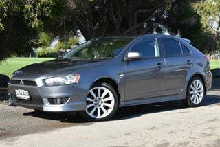 2009 Mitsubishi Lancer CJ MY10 VR-X Sportback Grey 6 Speed Constant Variable Hatchback.