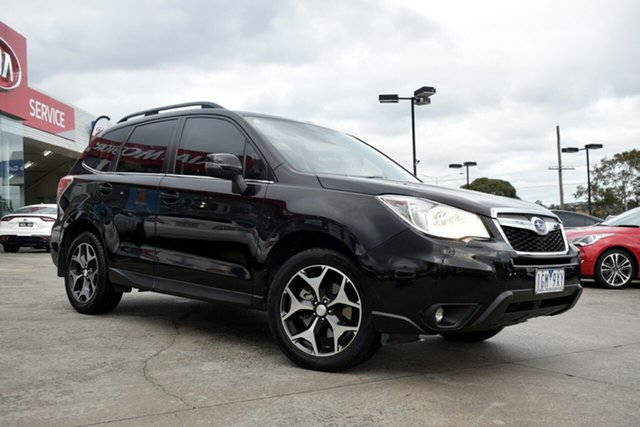 Used Subaru Forester S4 MY15 2.0D-S CVT AWD, 2015 Subaru Forester S4 MY15 2.0D-S CVT AWD Black 7 Speed Constant Variable Wagon