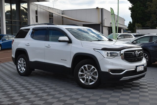 Used Holden Acadia AC MY19 LT AWD, 2018 Holden Acadia AC MY19 LT AWD Abalone White 9 Speed Sports Automatic Wagon