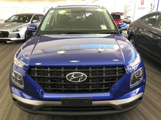 2019 Hyundai Venue QX MY20 Active Intense Blue 6 Speed Automatic Wagon